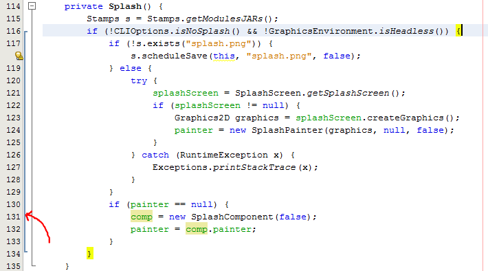 Brackets in NetBeans Development Build (20 August 2012)