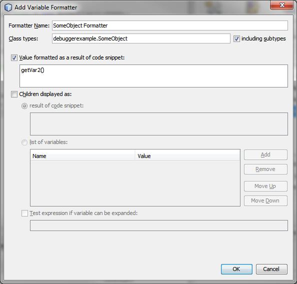 Custom Formatter