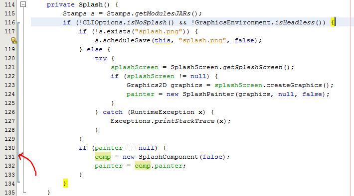Brackets in NetBeans Development Build (20 August 2012)